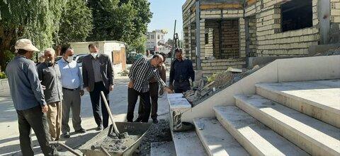 پروژه پیادهراه پارکینگ شهرداری کرمانشاه باید هرچه سریعتر افتتاح شود