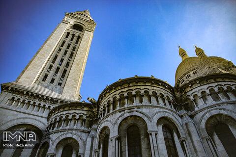 محله مونمارتر و کلیسا کلیسای سکرهکر پاریس