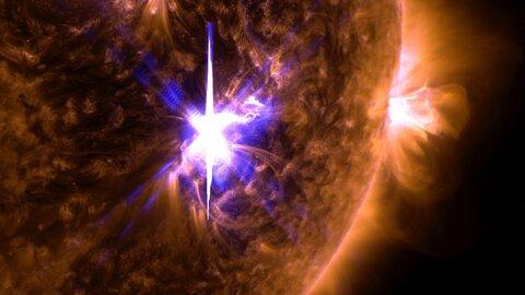 تلسکوپی که طوفانهای خورشیدی را پیشبینی میکند