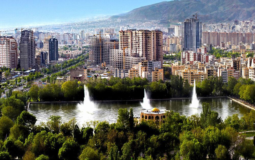 نورپردازی دو بنای بزرگ شهر تبریز