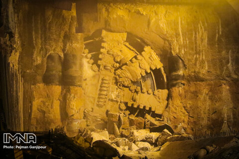 اتمام حفاری تونل جبهه شرقی خط سه قطار شهری مشهد تا پایان ۱۴۰۰