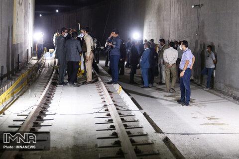 بازدید نوبخت از پروژه مترو بهارستان