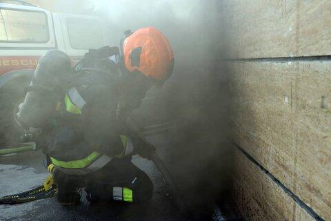 انفجار و آتش سوزی در روستای ملکی سه سنگر رشت مصدومی نداشت