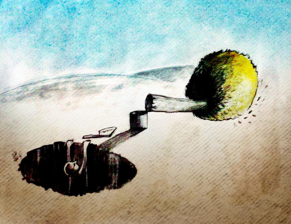 کارتون/ حفاظت از محیط زیست، حق و تکلیف همگانی است