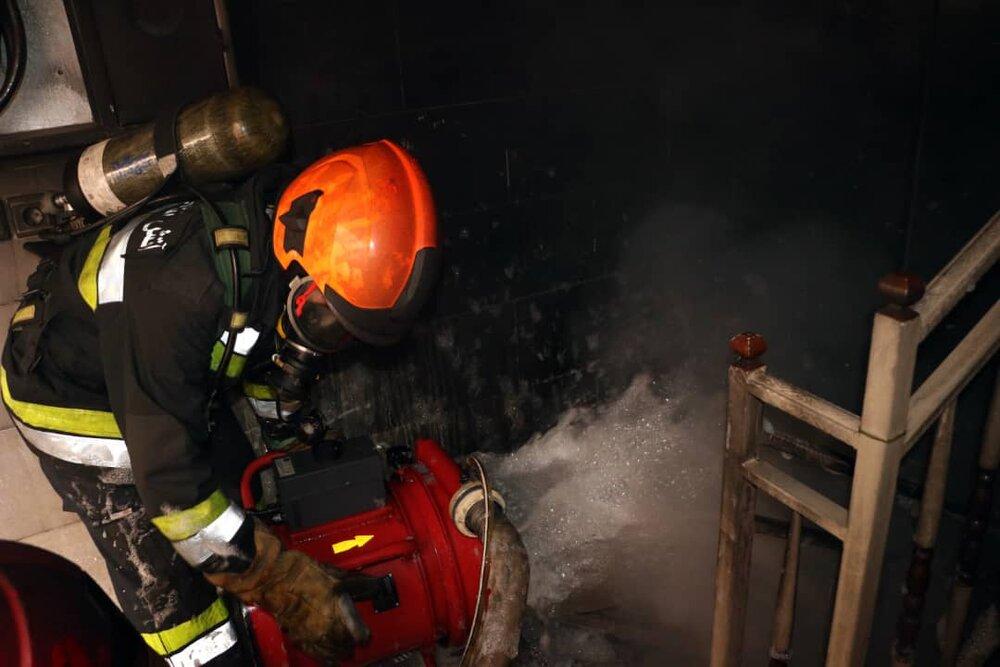 یخچال دو قلو خانهای در اهواز را به آتش کشید