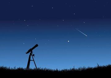 """عکاسی نجومی از پدیده """"زمین تاب"""""""
