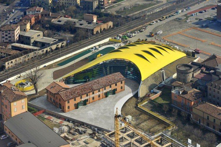 موزه انزو فراری، سازهای پایدار در ایتالیا