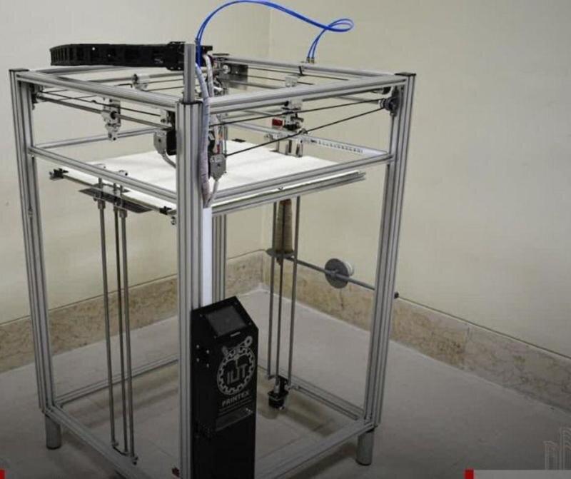 ساخت چاپگر سه بعدی کوچک در دانشگاه شهیدبهشتی