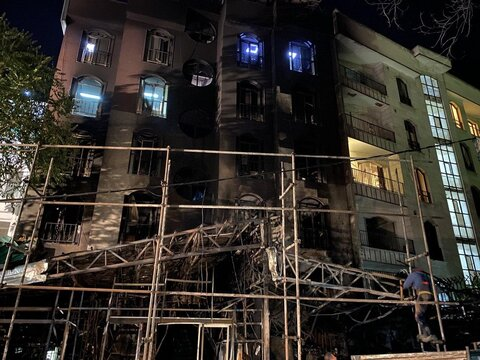 توضیح اورژانس تهران در خصوص انفجار دکلینیک