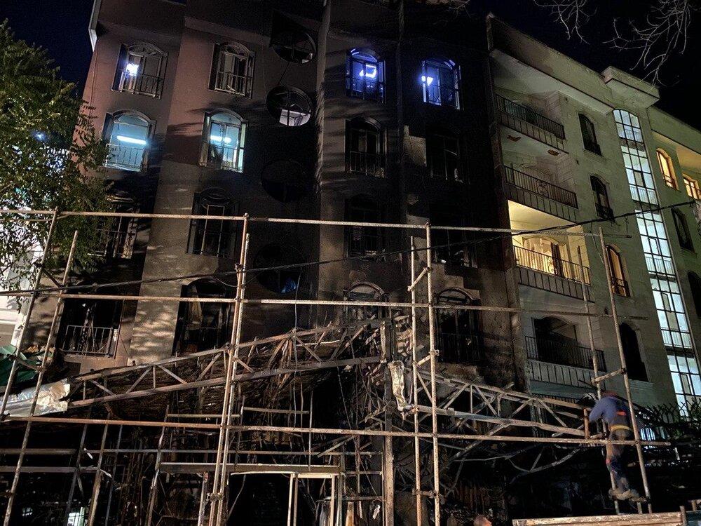 مرکز درمانی تجریش ۴ اخطار از آتشنشانی داشت