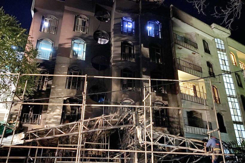 ۸ نفر از گروههای پزشکی به دلیل حادثه کلینیک سینا مهر در بازداشت هستند