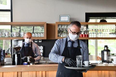 اجبار شورا در استفاده از ماسک برای صاحبان مشاغل شهر آیکن