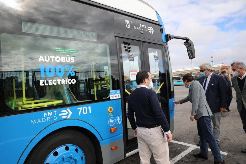 افزایش اتوبوسهای برقی در اسپانیا
