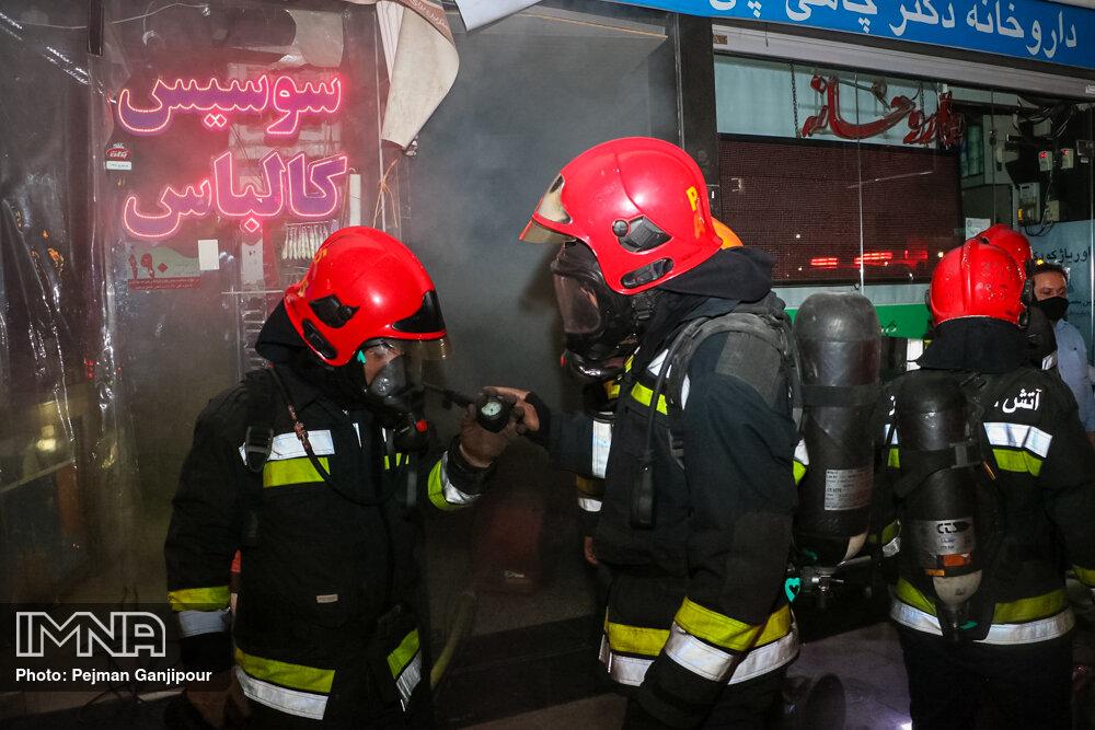 آتشنشانان اصفهان در سال ۹۸ چه تعداد حریق و حادثه را پوشش دادند؟