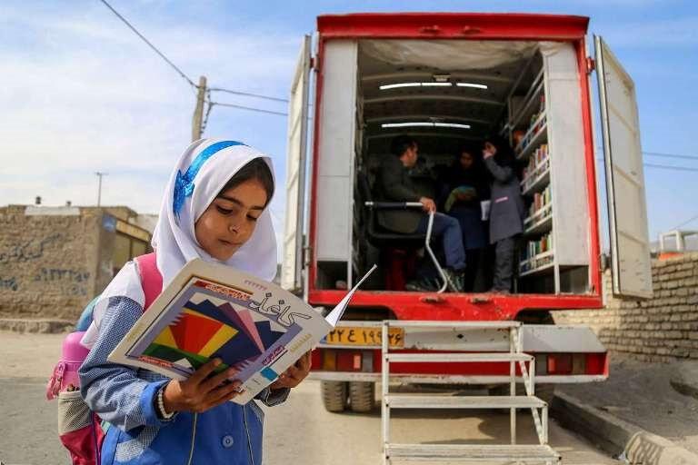 راهاندازی کتابخانه سیار در مناطق آسیبپذیر گرگان