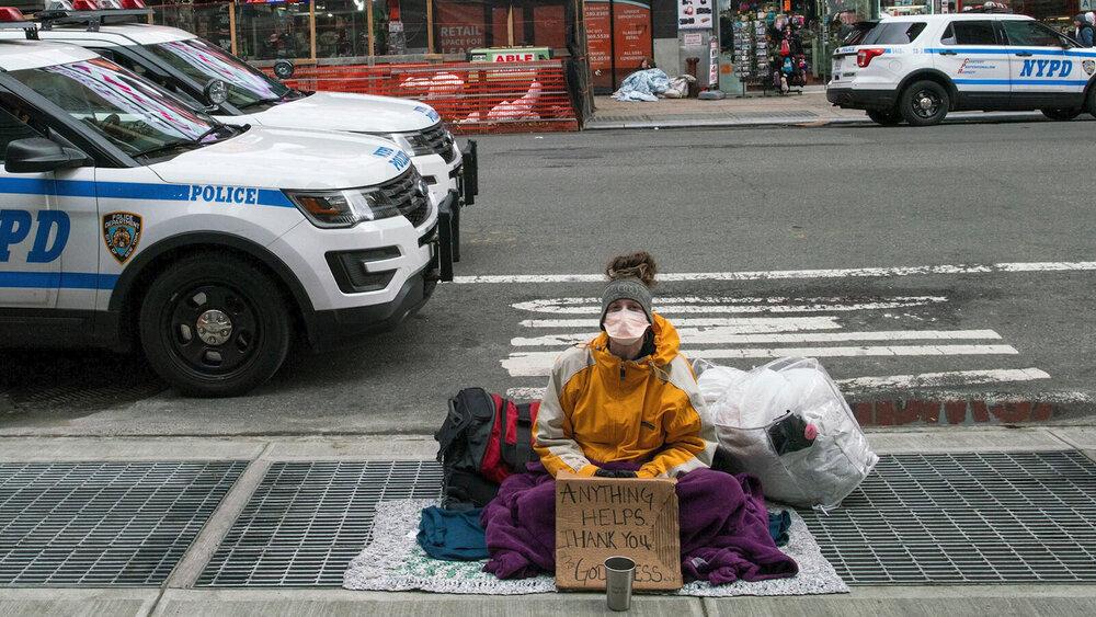 حل بحران بیخانمانهای نیویورکی در روزهای کرونایی