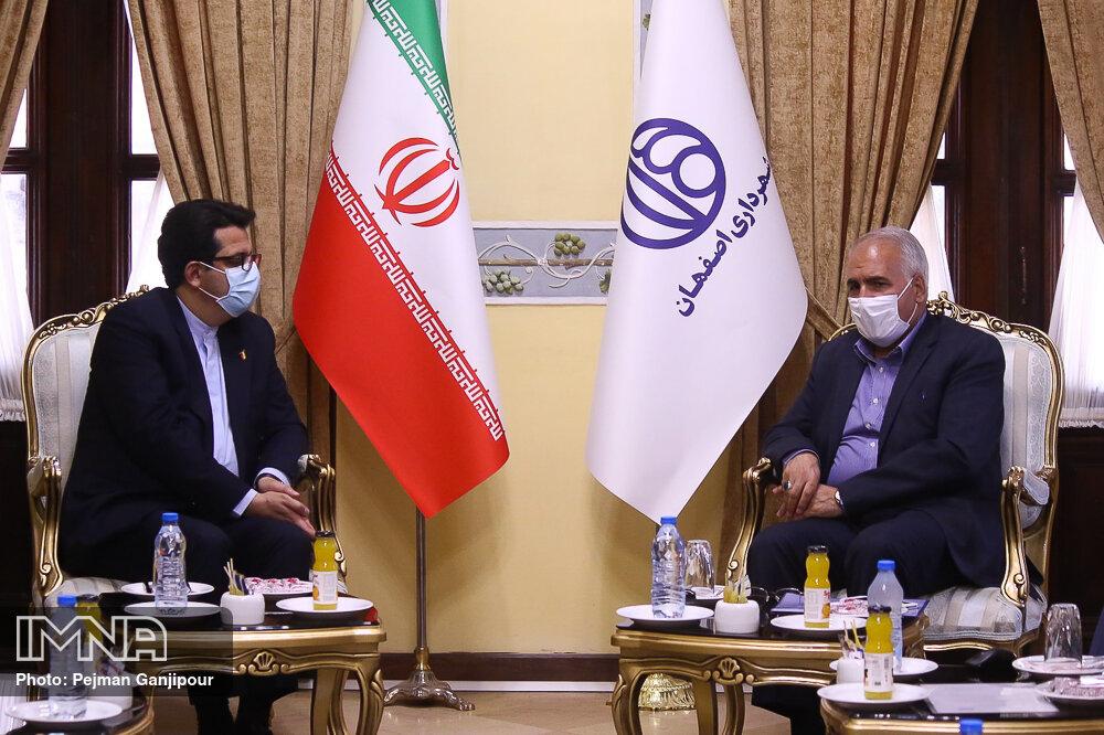 موسوی: اصفهان نقش مهمی در افزایش دیپلماسی شهری و فرهنگی دارد