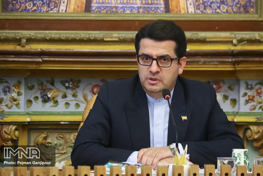 موسوی: سند ۲۵ ساله ایران و چین افتخار آمیز است/ اصفهان یک اعتبار برای ایران است