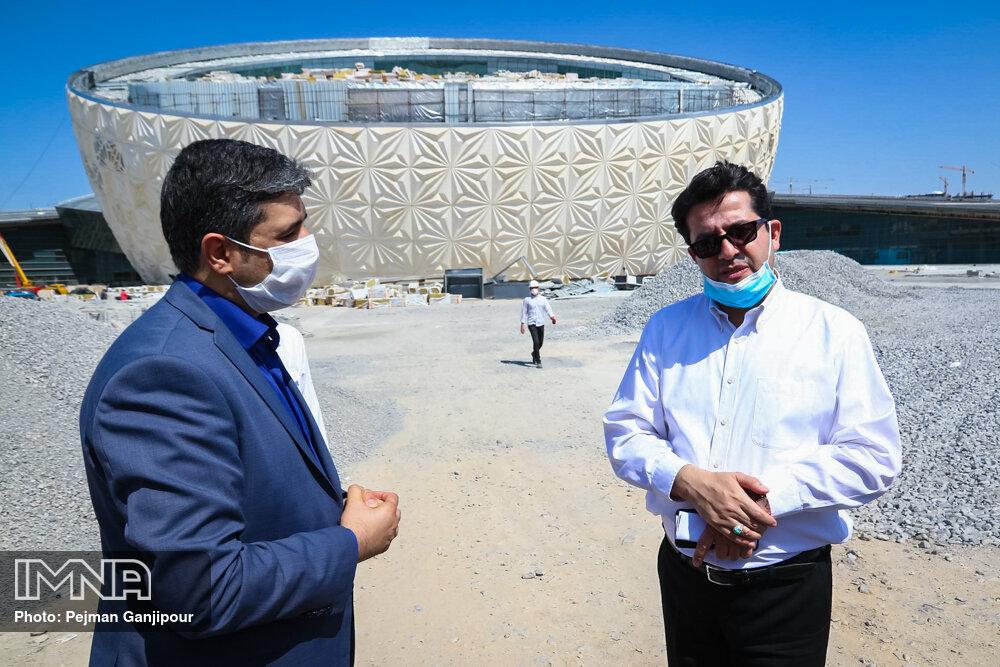 بازدید سخنگوی وزارت امور خارجه از مرکز همایش های بین الملل اصفهان