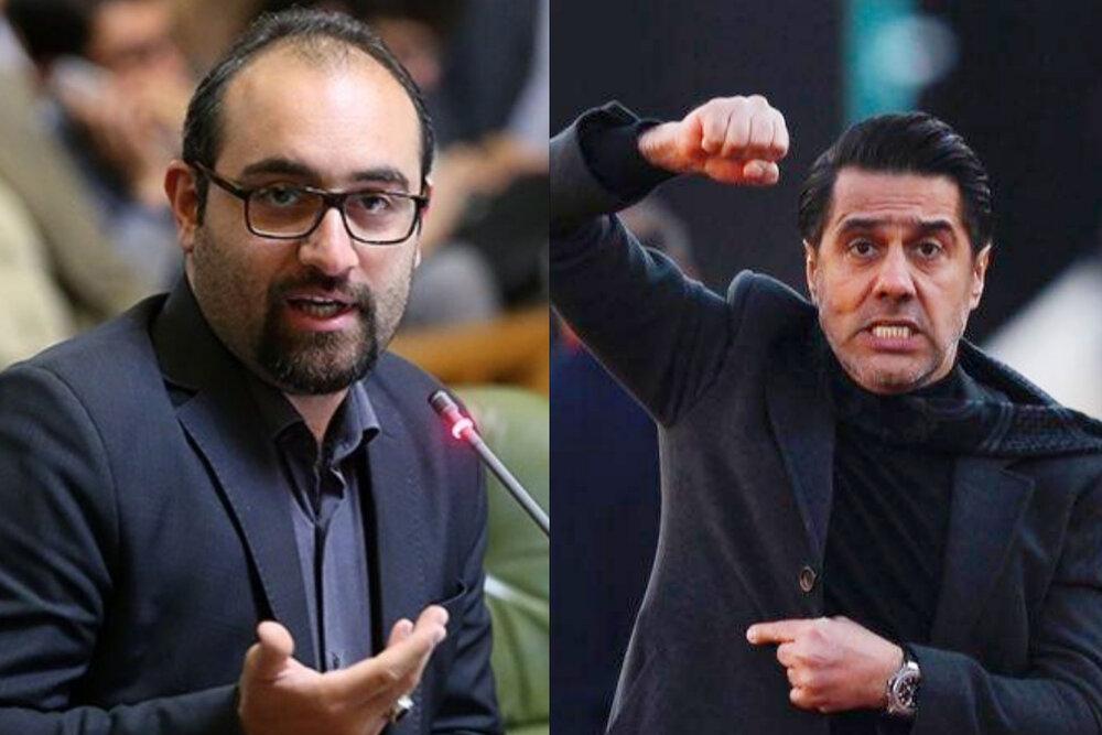پرسپولیسیها علیه عضو شورای شهر