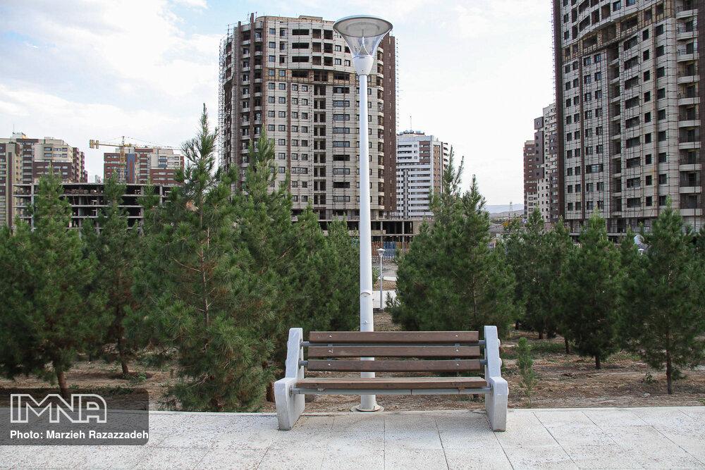 احداث پارک محلهای در رضیآباد شهریار