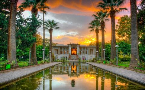 Afif-abad garden in Shiraz