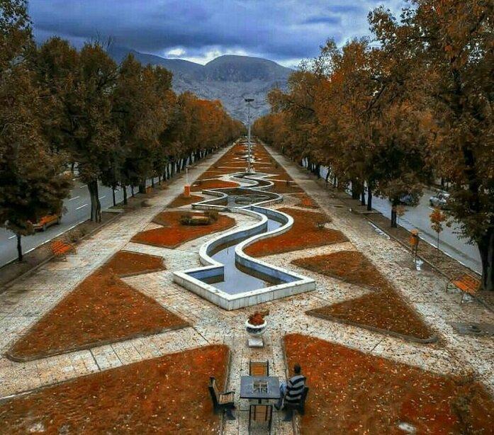 پیادهراههای گردشگری و سلامت در شهر باستانی
