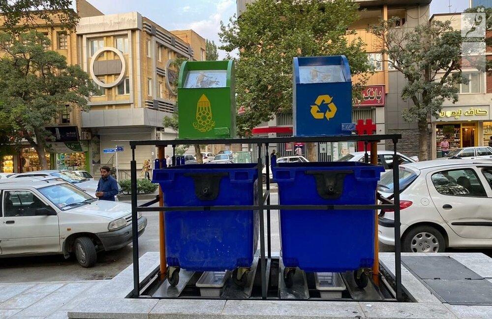 تولید مخزن زباله توسط شهرداری خرمآباد