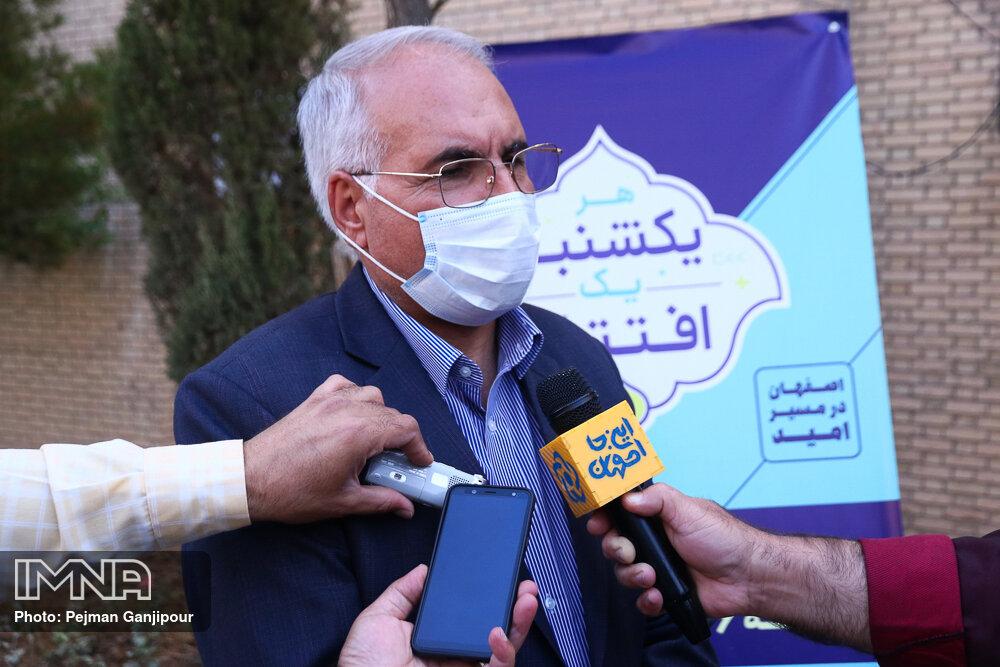 Staving off Coronavirus by urban advertisements in Isfahan