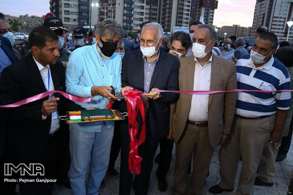 افتتاح و کلنگ زنی پروژه های عمرانی در منطقه ۶