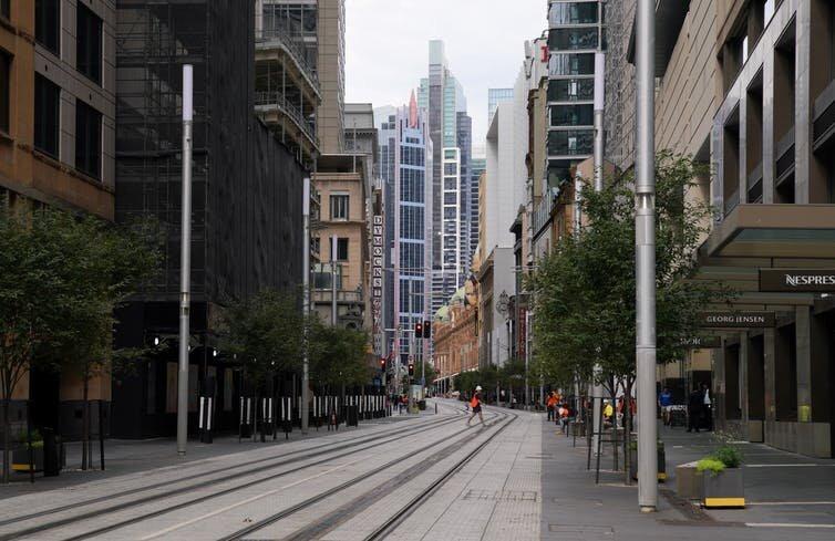 تأثیر کرونا بر زندگی در شهرهای آمریکایی