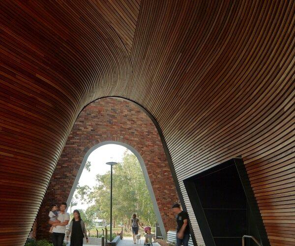بزرگترین بنای بازیافتی استرالیا ساخته شد