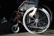 خطکشی پارکینگ ویژه معلولان در قزوین