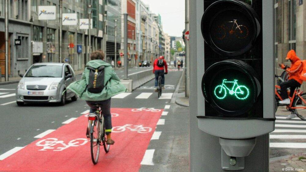احداث خطوط ایمن دوچرخه سواری در هامبورگ