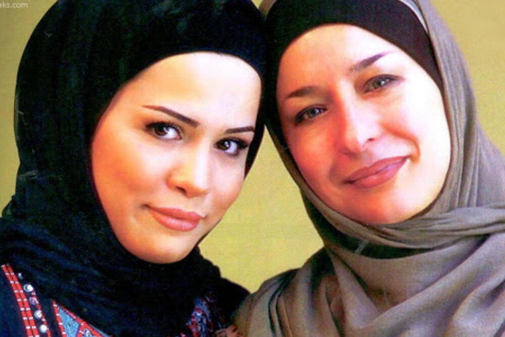 ملیکا شریفینیا و مادرش در سریال جدید سیما+عکس