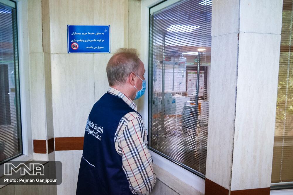 بازدید نماینده سازمان جهانی بهداشت از مراکز درمانی اصفهان