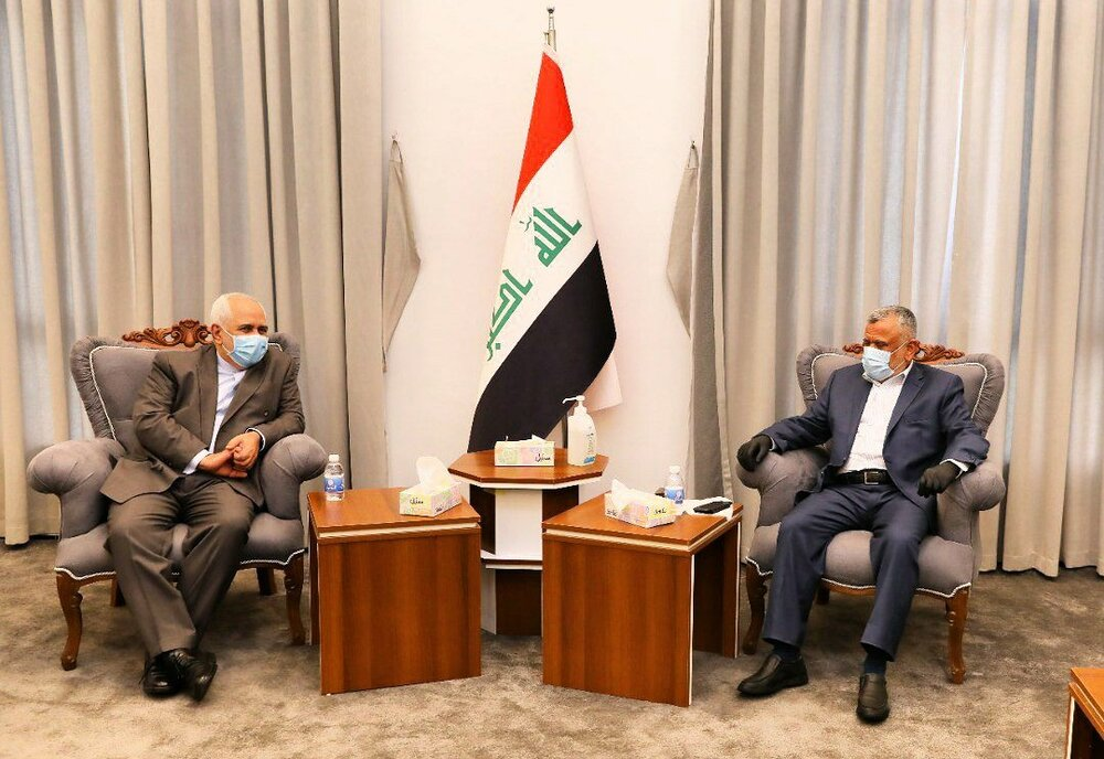دیدار وزیر امور خارجه و رئیس ائتلاف فتح عراق