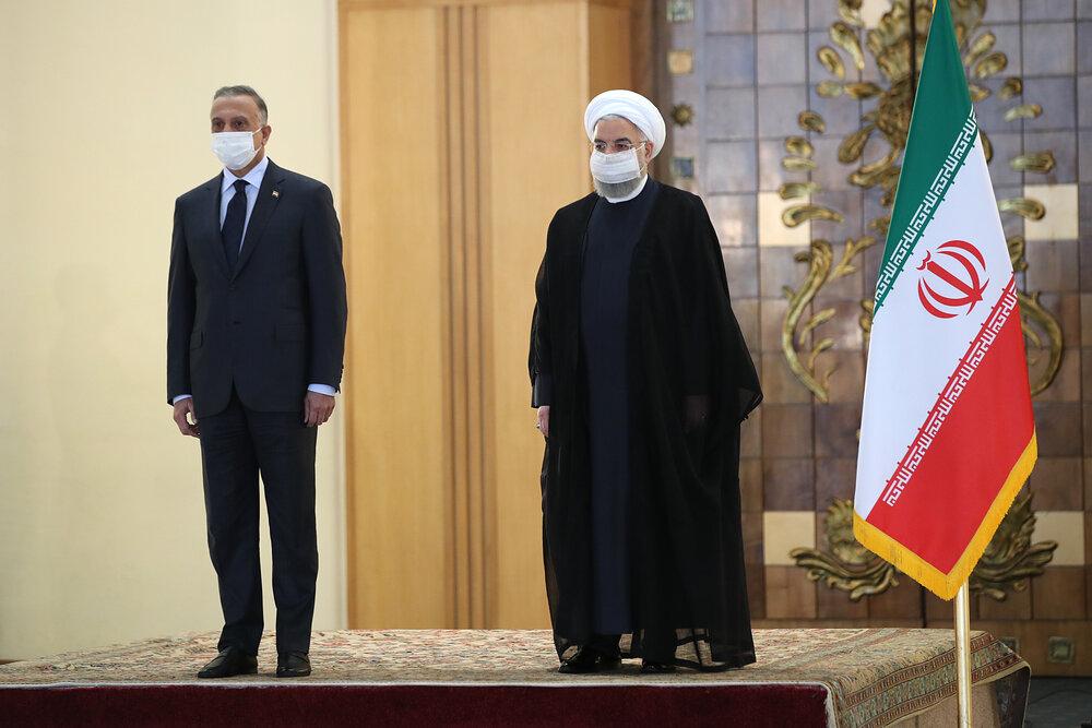 روحانی: اراده ایران و عراق ارتقای روابط تجاری به ۲۰ میلیارد دلار است