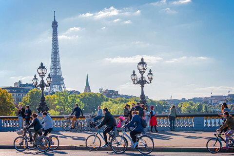 پاریس ۲۰۲۰؛ شهر دوچرخهها