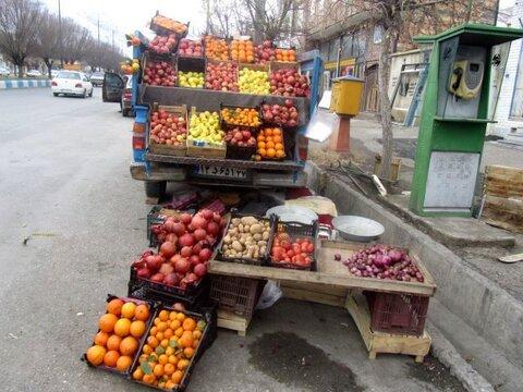 جریمه و توقیف خودروهای میوه فروش در بندرعباس