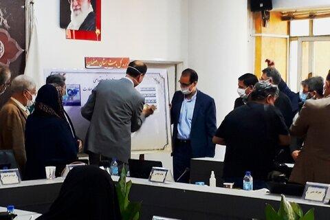 """تمبر """"اصفهان پایلوت پایتخت مهارتمحوری"""" رونمایی شد"""