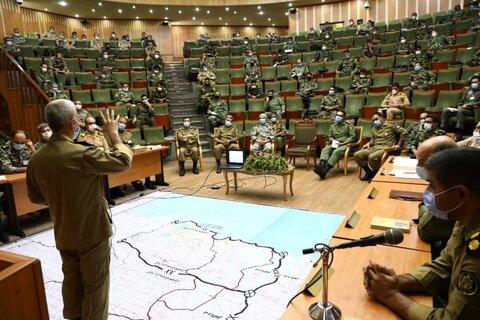 آغاز رزمایش تاکتیکی ذوالفقار در دانشگاه فرماندهی و ستاد ارتش