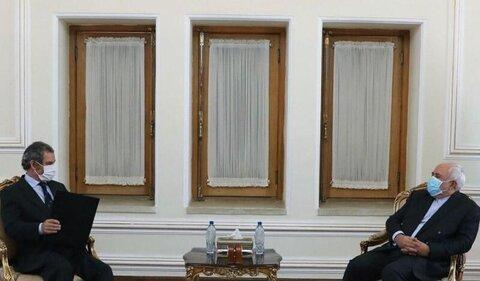 سفیران جدید پرتغال و اسپانیا رونوشت استوارنامه خود را تسلیم ظریف کردند