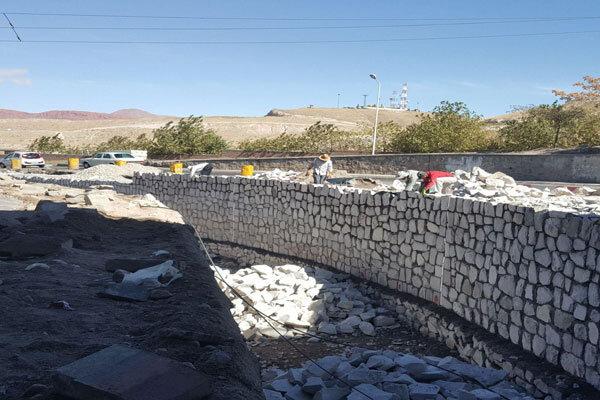 احداث کانالهای سنگی با هدف ساماندهی آبهای سطحی در ارومیه