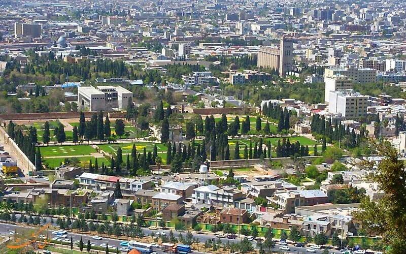 پیشرفت ۴۵ درصدی پروژه فضاسازی شهری در منطقه ۴ شیراز