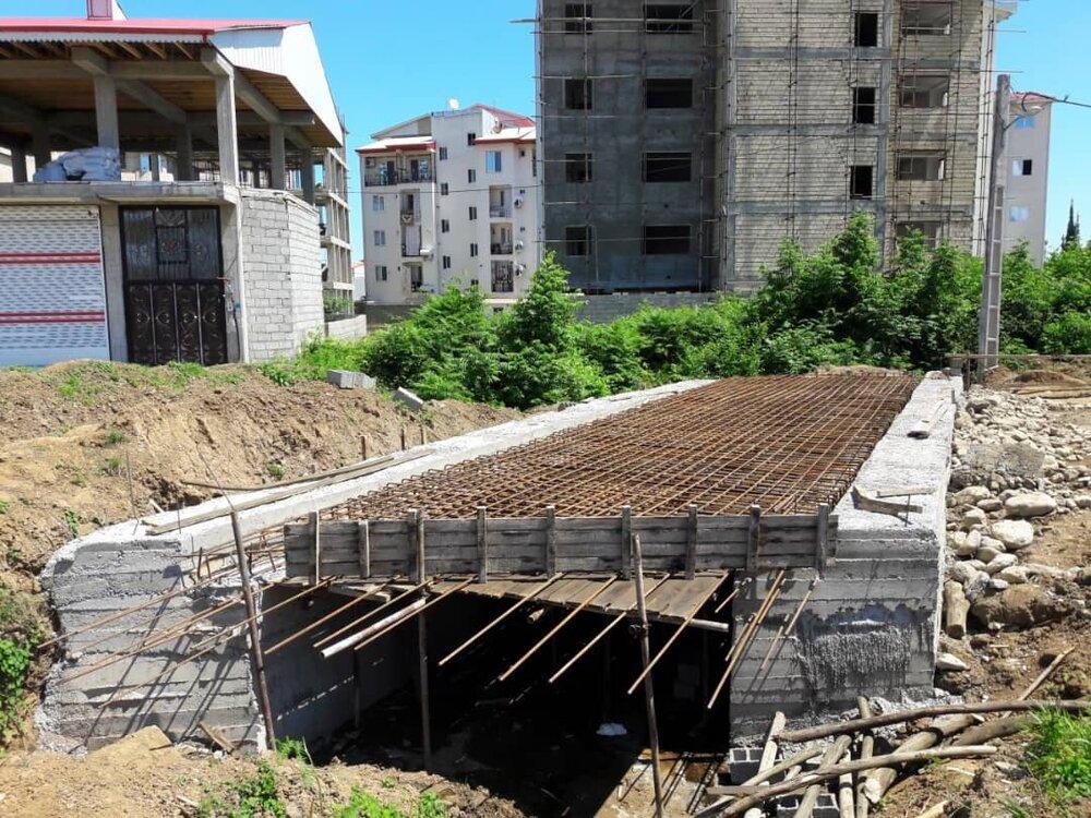 پیشرفت ۷۵ درصدی پروژه دفعه آبهای سطحی کلانشهر رشت