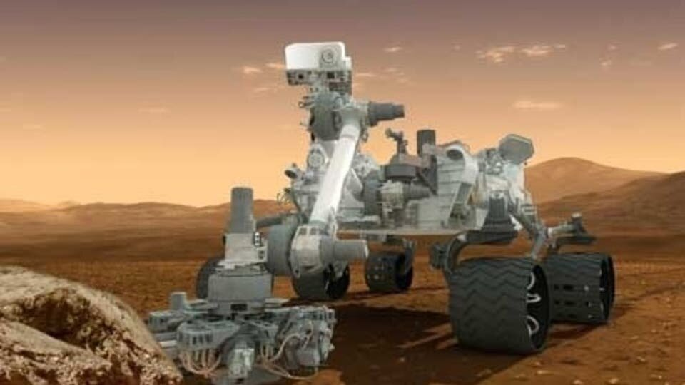 مهمانی روبات ها روی مریخ