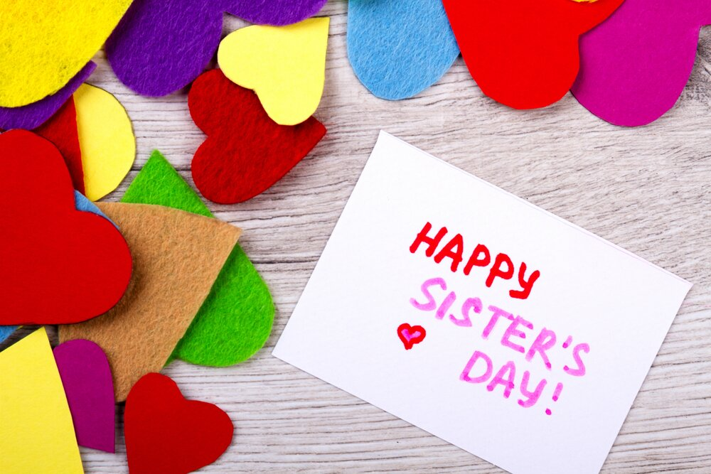 Happy sisters' day