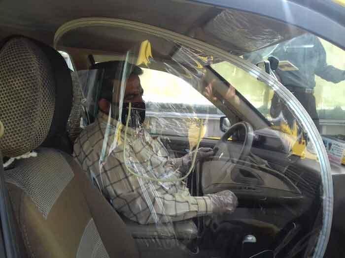 توزیع ماسک رایگان بین تاکسیرانان تهران/تخفیف انجام تست کرونا برای رانندگان