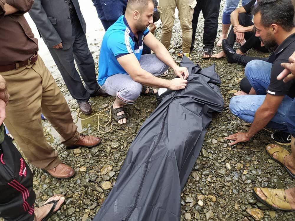 جسد جوان ۲۰ ساله در رودخانه پسیخان پیدا شد